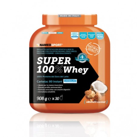 SUPER 100% WHEY COCONUT ALMOND - 908g