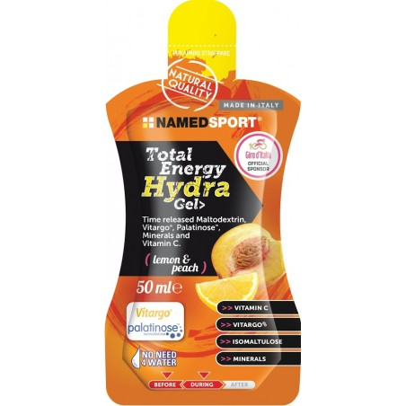 TOTAL ENERGY HYDRA GEL LEMON & PEACH - 50 ml
